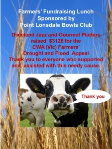 Cow Fundraiser Thank you Jazz